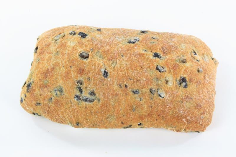 Download Mediterranean Ciabatta Black Olive Bread. Stock Image - Image: 13543373