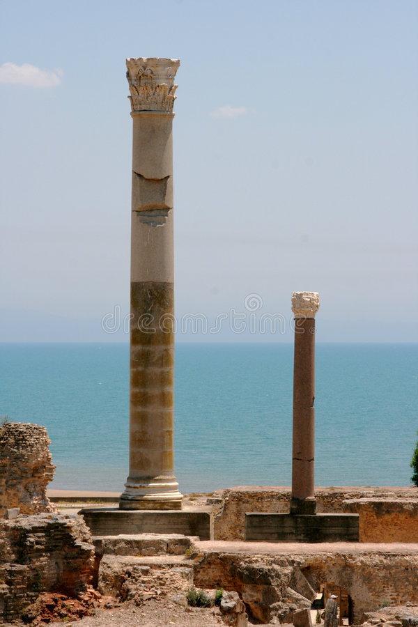 Download Mediterranean Columns stock photo. Image of lonely, geology - 5695564