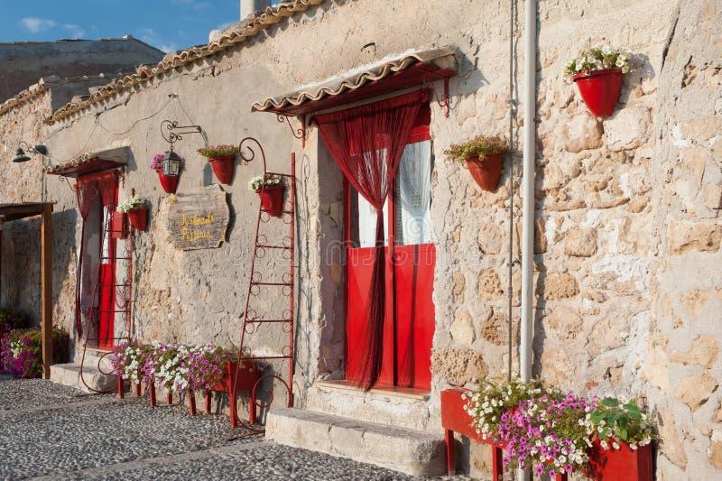 Mediterranean corner royalty free stock image