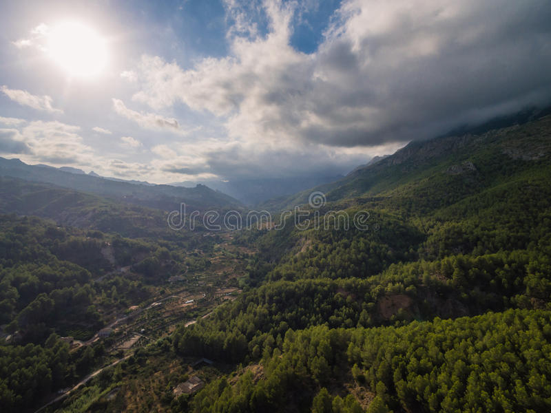 Mediterranean country. Spain, Costa Blanca stock image