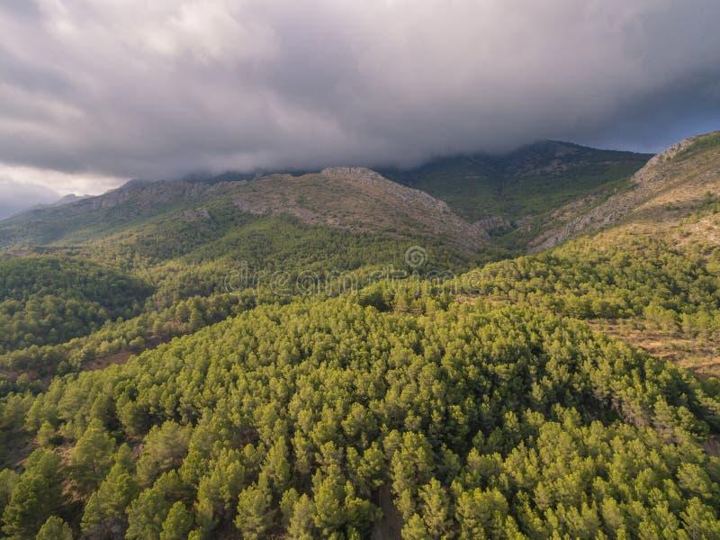 Mediterranean country Spain. Costa Blanca stock image