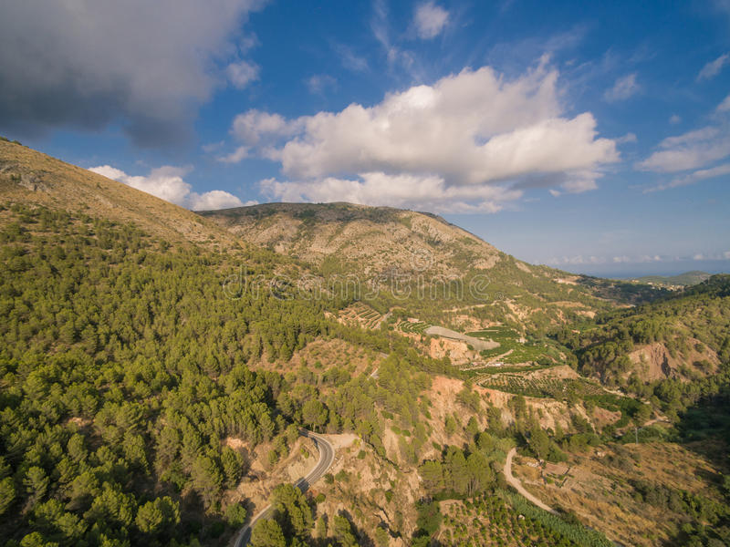 Mediterranean country Spain. Costa Blanca royalty free stock photography