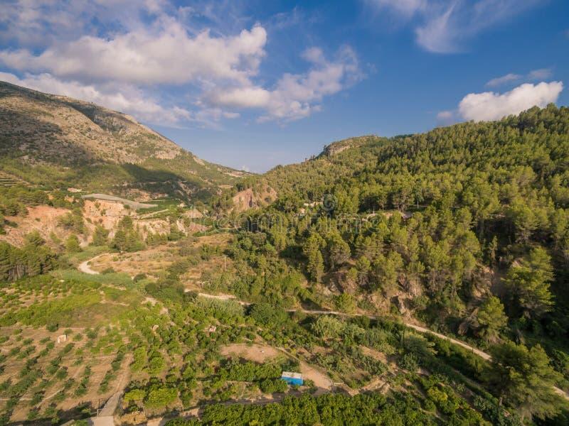 Mediterranean country Spain. Costa Blanca stock photography
