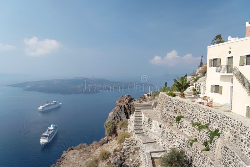 Mediterranean Cruising stock photography