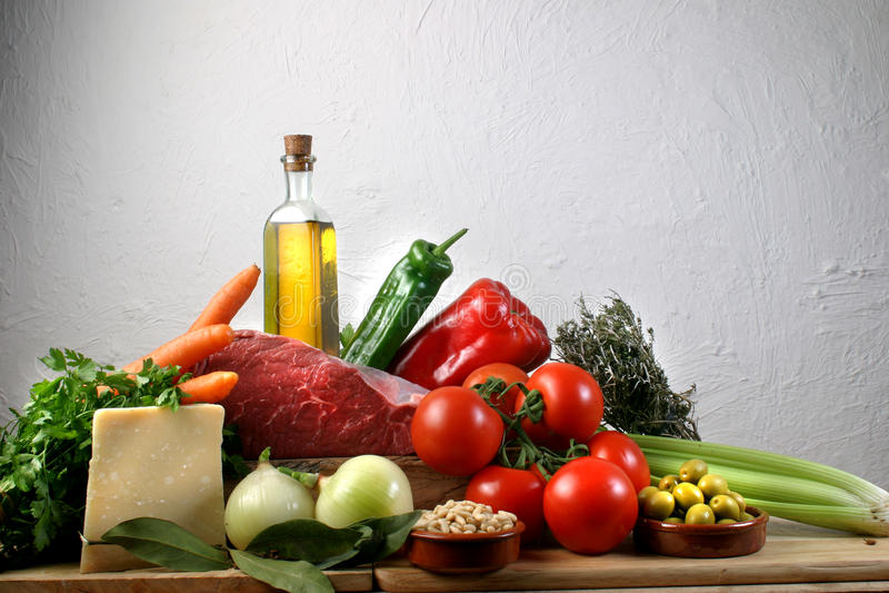 Download Mediterranean Food Royalty Free Stock Image - Image: 11080176