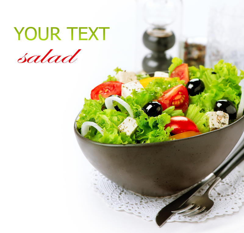 Free Mediterranean Greek Salad Royalty Free Stock Photo - 38416655
