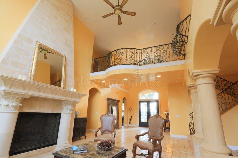 Mediterranean Home stock photo