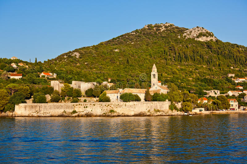 Download Mediterranean - Island Lopud Stock Photo - Image of colorful, hill: 21005178