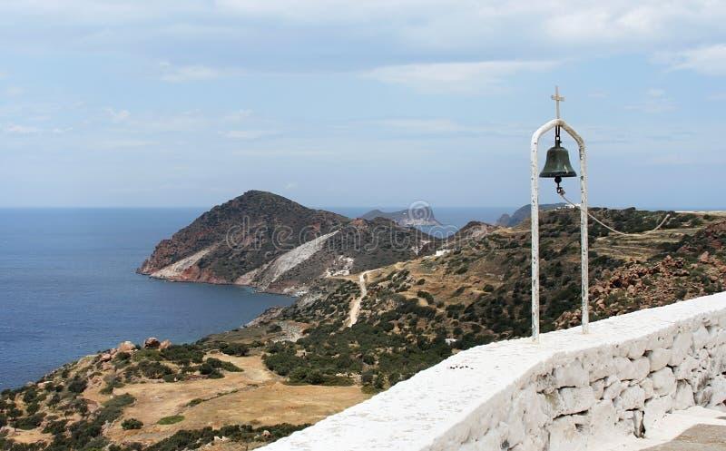 Download Mediterranean landscape stock photo. Image of cross, church - 24062870