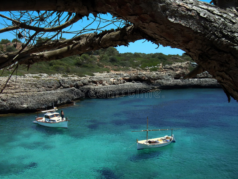 Mediterranean Life stock photo
