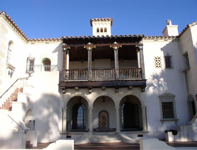 Mediterranean Mansion. In southwestern Florida royalty free stock image