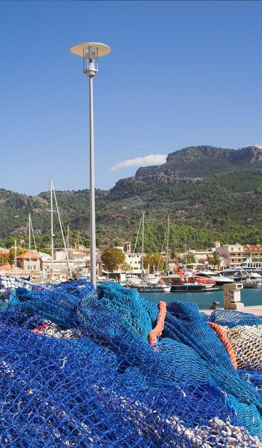 Download Mediterranean marina stock image. Image of masts, soller - 1793745