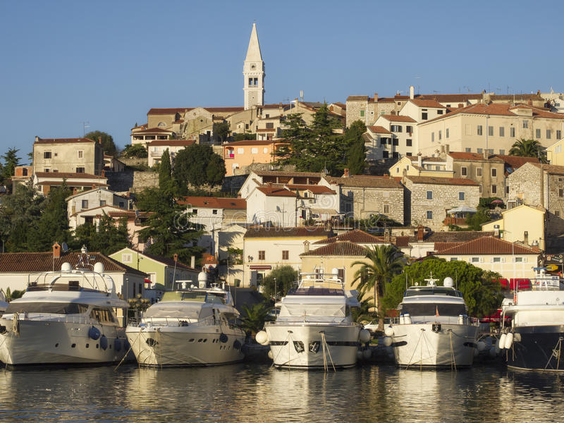 Download Mediterranean Marina stock photo. Image of boat, church - 34626114