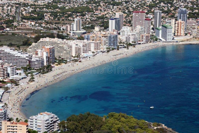 Download Mediterranean Resort Calpe, Spain Royalty Free Stock Photography - Image: 21923877