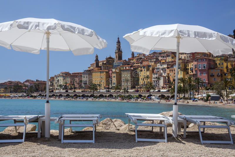 Download Mediterranean Resort Of Menton - French Riviera Stock Photos - Image: 26688063