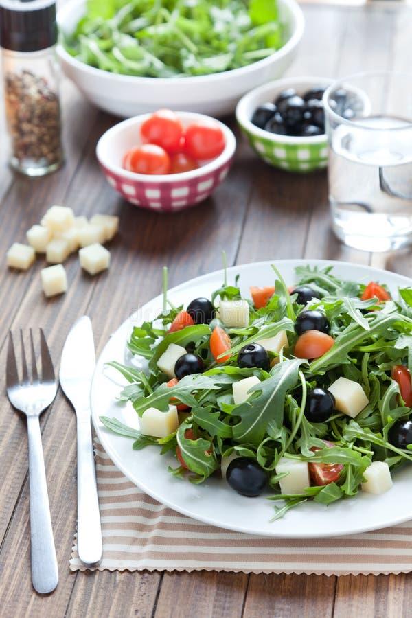 Download Mediterranean salad stock photo. Image of macro, snack - 22806578