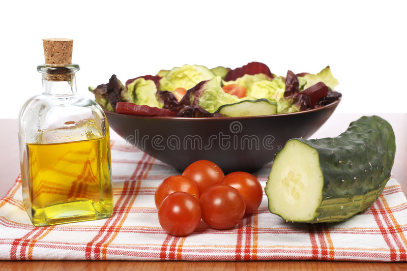 Download Mediterranean salad stock photo. Image of delicious, natural - 5978274
