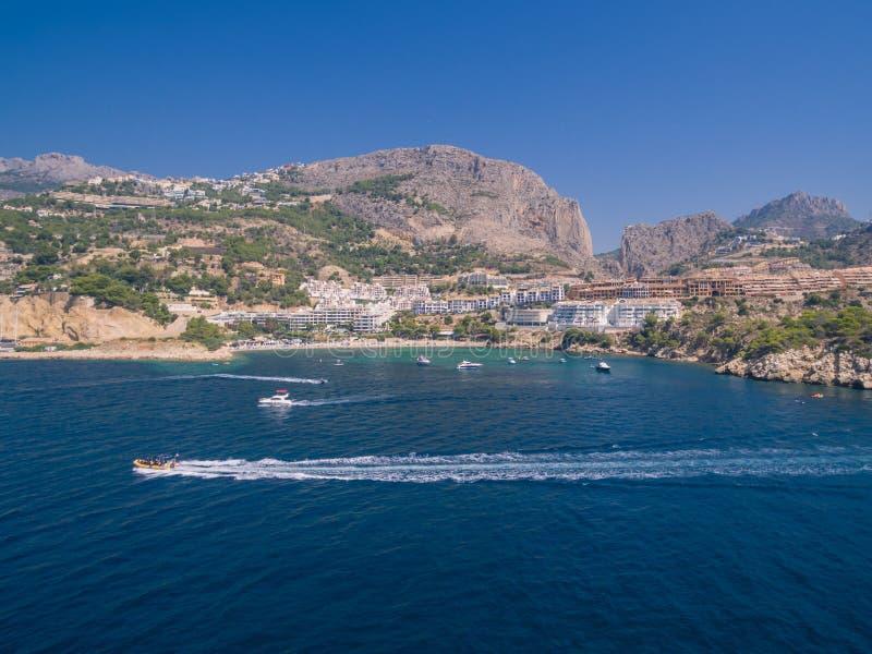 Mediterranean sea coast. Spain, Costa Blanca stock photo