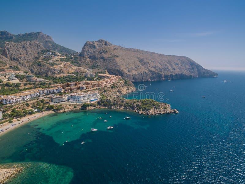 Mediterranean sea coast. Spain, Costa Blanca stock images