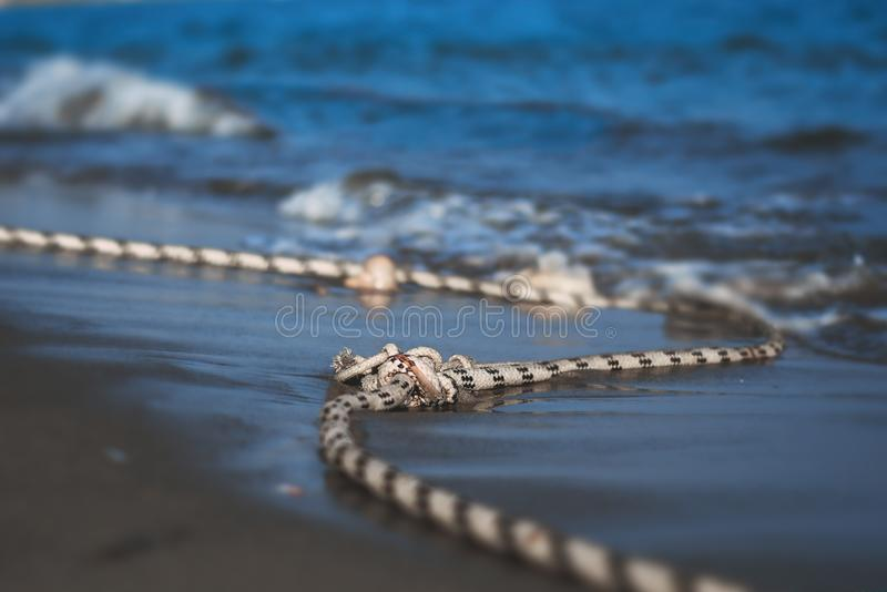 Mediterranean Sea on the coast of Turkey. royalty free stock photos