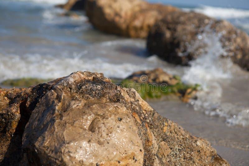Mediterranean Sea Haifa Israel royalty free stock photography