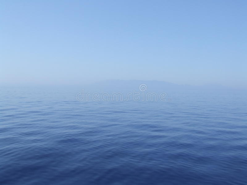 Mediterranean sea near Turcia stock image