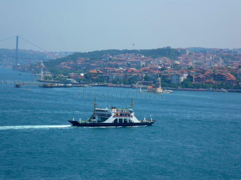 In the Mediterranean Sea port. A wonderful view of the Mediterranean port. the blue sea with its waves stock photos