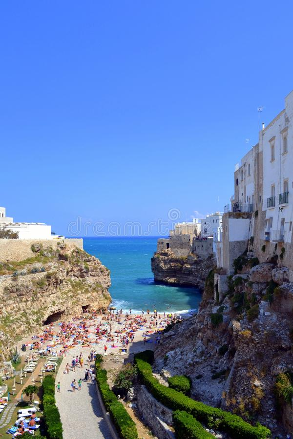 Mediterranean sea,puglia` `s sea royalty free stock photos
