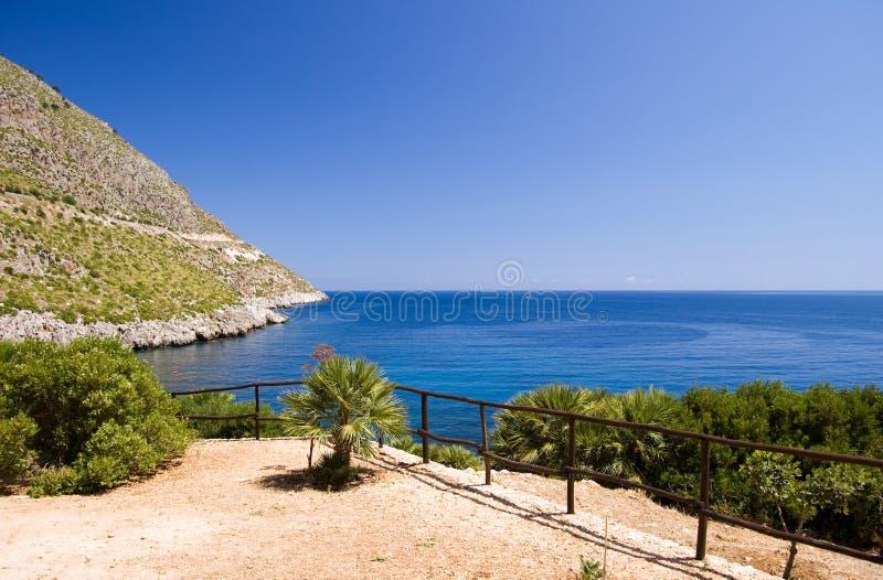 Mediterranean Sea Riserva Dello Stock Image