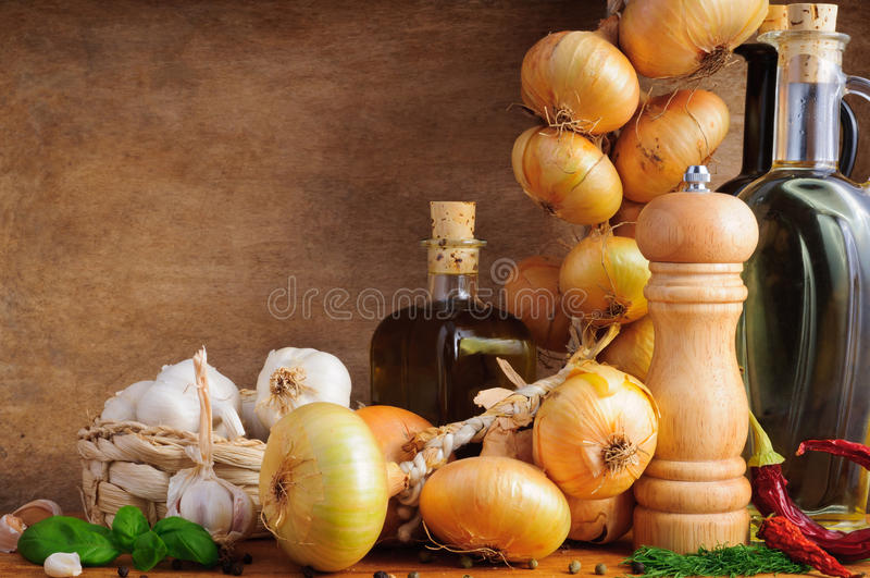 Download Mediterranean seasoning stock image. Image of copy, still - 21222199