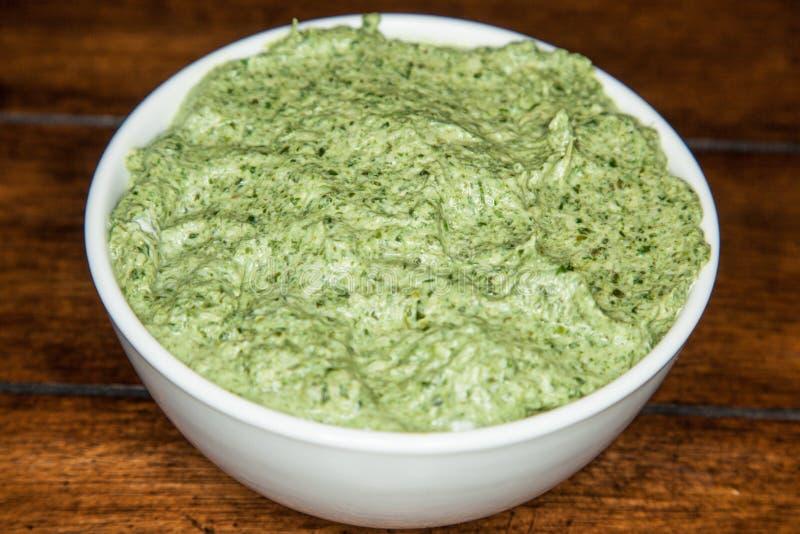 Mediterranean Spinach Artichoke Dip stock photos