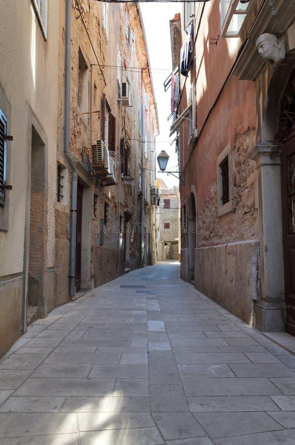 Download Mediterranean street stock image. Image of romantic, croatia - 19469557