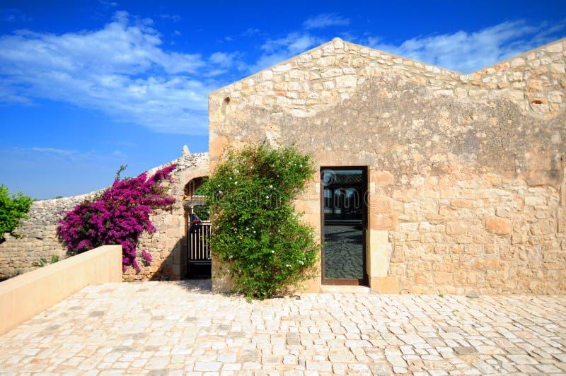 Mediterranean Villa Stock Photo