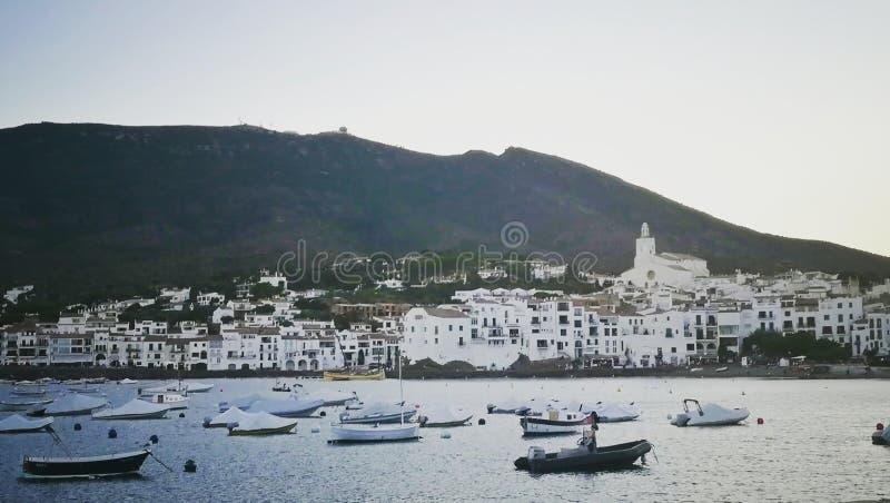 Mediterranianstad 2 royalty-vrije stock afbeeldingen