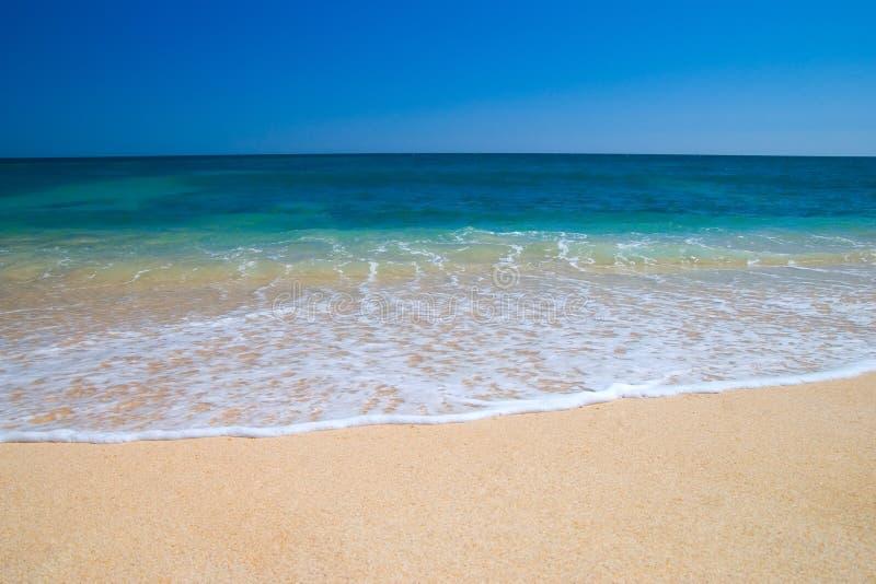 meditteranean的海滩 库存照片