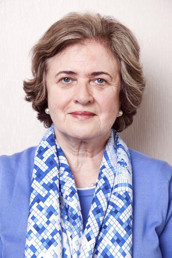 Download Senior Woman Portrait stock photo. Image of businesswoman - 29795026