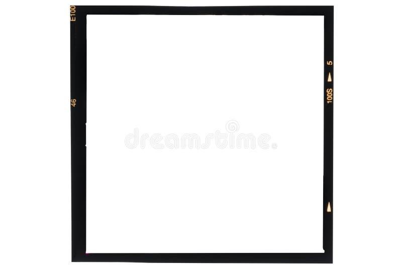 Medium format analog film stock image