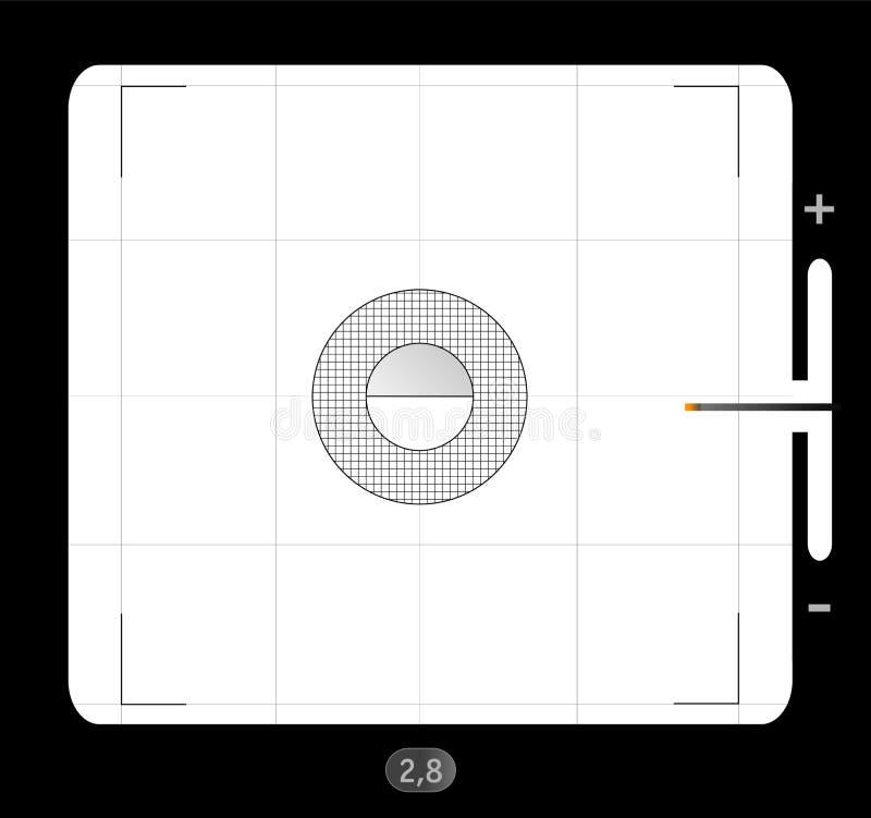 Download Medium format viewfinder stock vector. Image of focus - 26377588