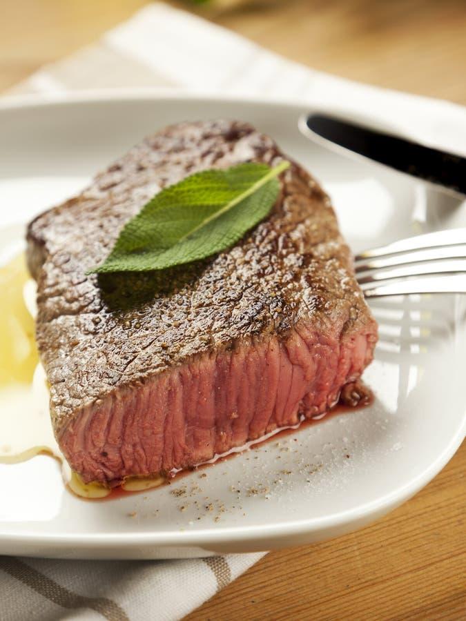 Download Medium Rare Fried Tender Steak Stock Image - Image: 27657883