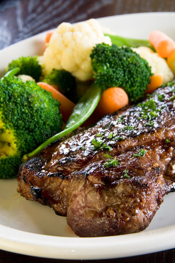 Download Medium Rare Steak Stock Image - Image: 7685981