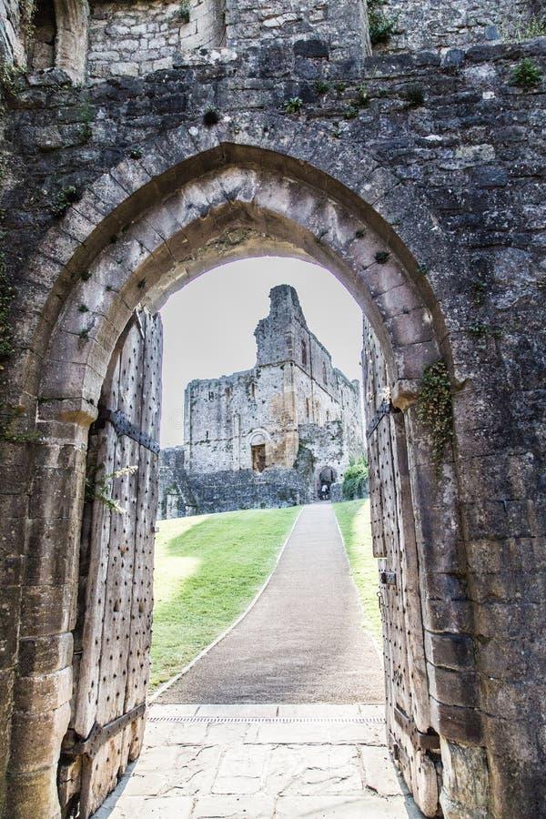 Medival castle stock images
