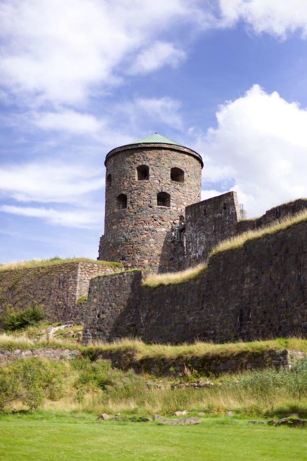 Medival-Festung in Kungälv stockfotografie