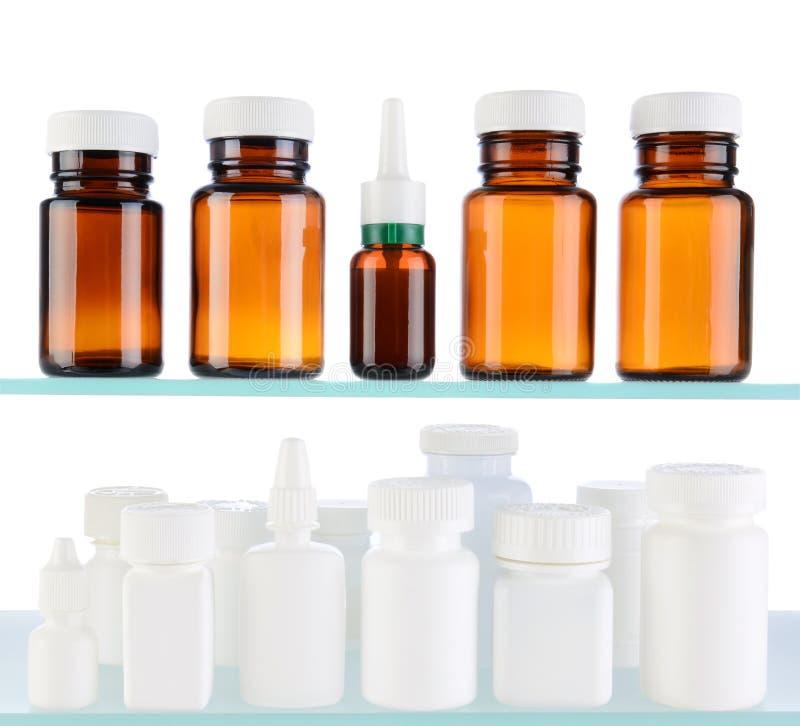 Medizin-Flaschen stockfotografie