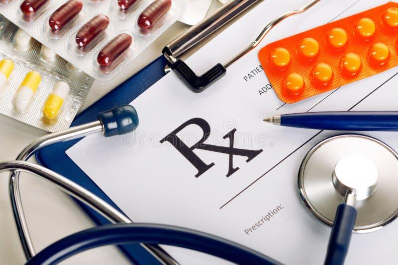Medizin- oder Apothekenkonzept stockbild