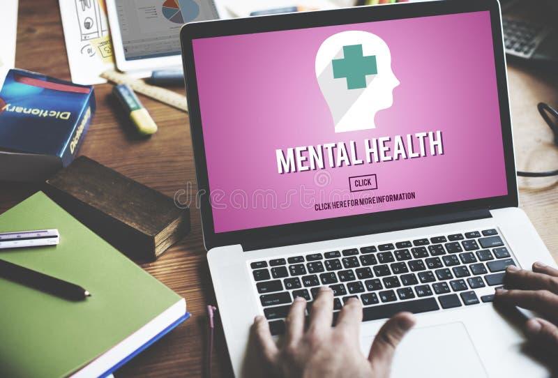 Medizin-Psychologie-Konzept der psychischen Gesundheit emotionales stockfotografie