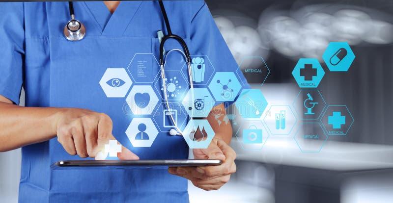 Medizindoktor-Handfunktion lizenzfreies stockfoto