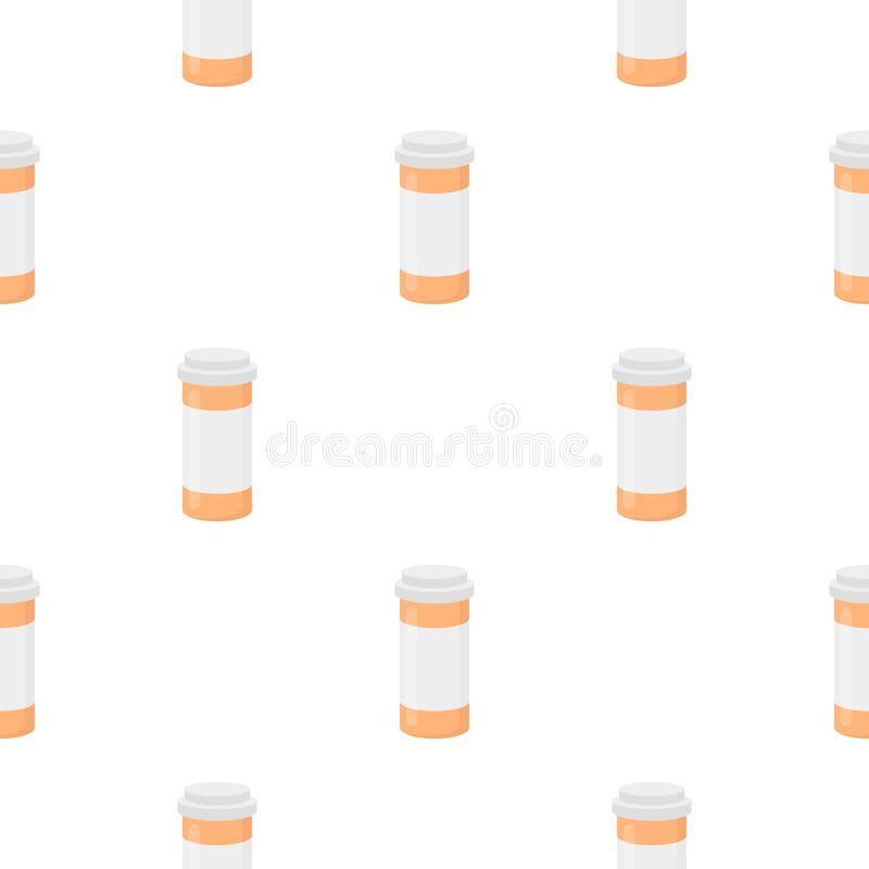 Medizinikonenkarikatur Einzelne Medizinikone vom großen medizinischen, Gesundheitswesenkarikatur stock abbildung