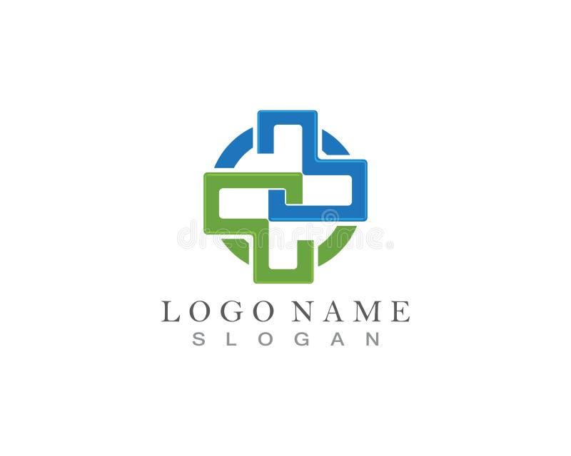 Medizinisch und Gesundheit Logo Vector Design vektor abbildung