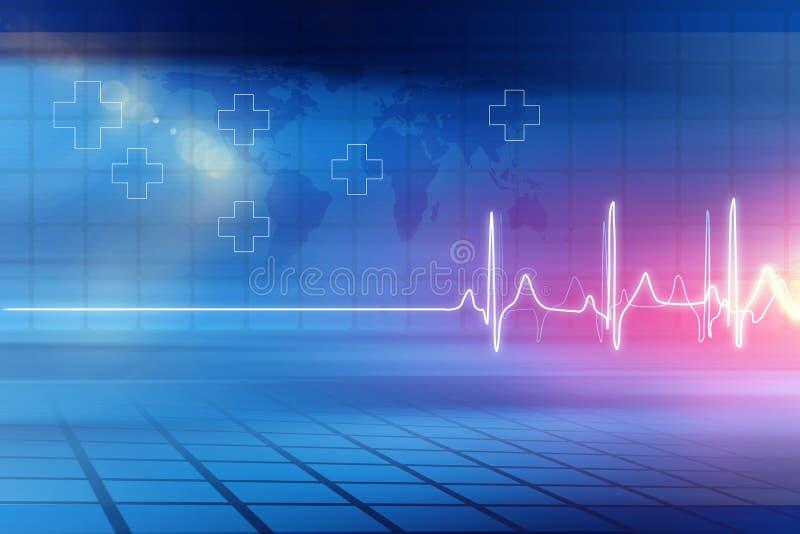 Medizinische abstrakte Hintergrund-Konzept-Reihe 05 lizenzfreie abbildung