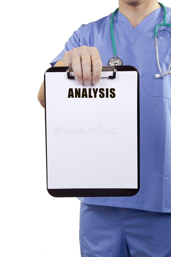 Medizinische Analyse stockfoto